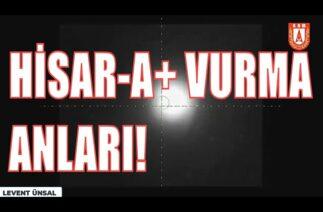 HİSAR-A+ HAZIR! | HİSAR A ATIŞ TESTİ! MİLLİ ENVANTERE GİRDİ! SAVUNMA SANAYİ, ERDOĞAN