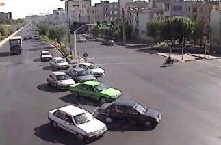 İran'dan Trafik Kazası…