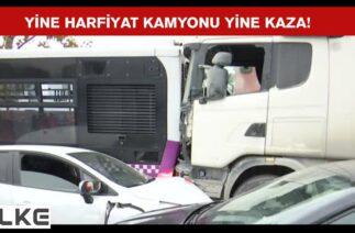 İstanbul Başakşehir'de zincirleme trafik kazası