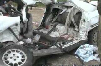 Kelkit'te Trafik Kazası 6 Ölü