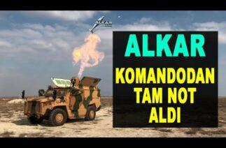 Komando yeni silahını sevdi: ASELSAN ALKAR – Full marks from commando to ALKAR – Türk savunma sanayi