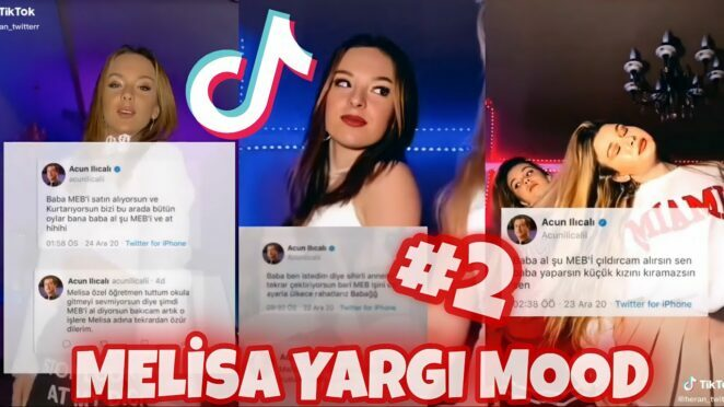 MELİSA YARGI MOOD #2 – Melisa Ilıcalı Twitter TikTok Akım Videoları