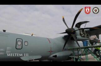 MELTEM-3 Projesi'nde ilk P-72 Deniz Karakol Uçağı, Deniz Kuvvetleri Komutanlığına teslim edildi