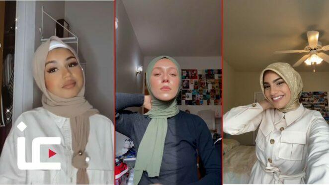 Muslim women give hijab tutorials on TikTok