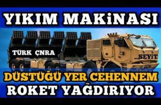 ROKETSAN (ÇNRA) ÇOKLU ROKET ATAR – Türk Savunma Sanayi Gelişmeleri
