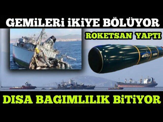 SAVUNMA SANAYİ / ROKETSAN YAPTI / ORKA TORPİDO