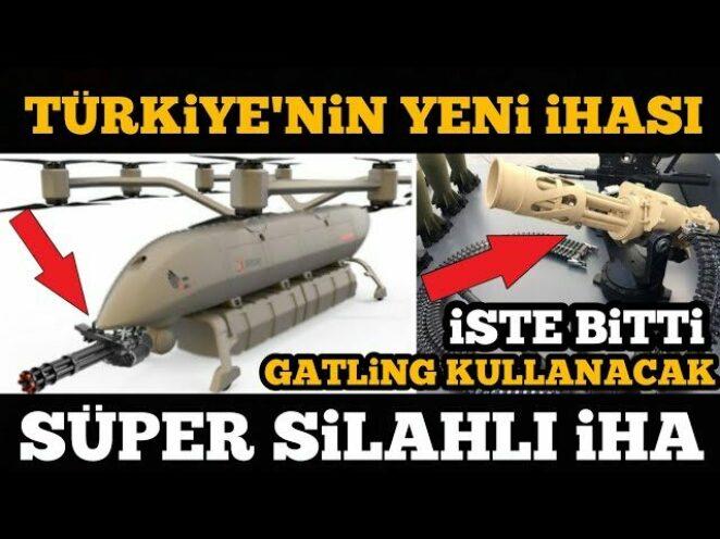 SAVUNMA SANAYİ TÜRKIYE'NİN YENİ SİHASI / ALBATROS İHA