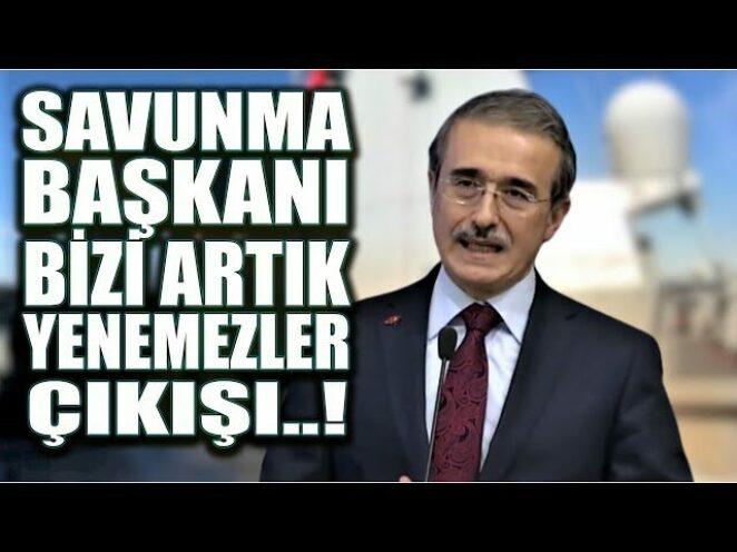 #SONDAKİKA SAVUNMA SANAYİ BAŞKANINDAN ÇARĞICI AÇIKLAMALAR..!