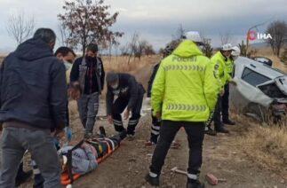 Seydişehir'de Trafik Kazası, Otomobil Şarampole Takla Attı: 1 Ölü, 1 Yaralı