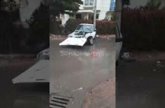Sivas merkez il jandarma komutanlığı mevkiinde trafik kazası