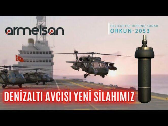 """TCG ANADOLU'NUN DENİZALTI AVCISI YENİ SİLAHIMI """"ORKUN-2053"""" ! TÜRKİYE SONUNDA BUNU DA ÜRETTİ !"""