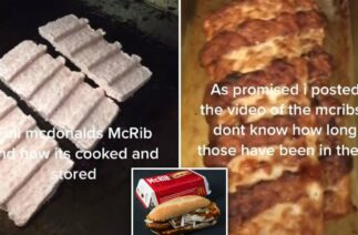 TIKTOK: MCDONALD'S EMPLOYEE SHOWS HOW MCRIBS ARE MADE IN VIRAL VIDEO – SOCIAL MEDIA IS HORRIFIED!