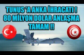 TUNUS 'A ANKA İHRACATI ! 80 MİLYON DOLAR ANLAŞMA TAMAM !!