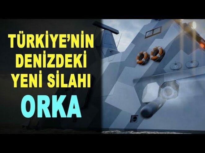Türkiye'nin denizdeki yeni silahı ORKA – Turkey's new weapon in the sea – ROKETSAN – Savunma Sanayi