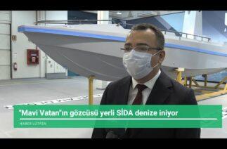 Türkiye'nin ilk silahlı insansız deniz aracının (SİDA) prototipi tamamlandı