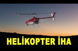 Türkiye'nin insansız helikopteri ALPİN göreve hazır / Unmanned helicopter Alpin ready to carry cargo