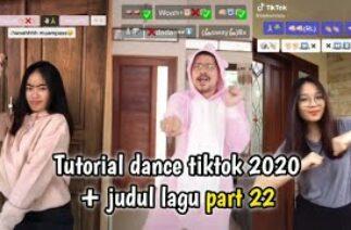 Tutorial dance tiktok 2020 + judul lagu part 22