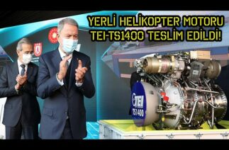 YERLİ HELİKOPTER MOTORU TEI-TS1400'ÜN ATEŞLEME TESTİ! – SAVUNMA SANAYİ