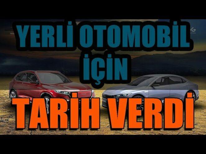 YERLİ OTOMOBİL TOGG İÇİN TARİH VERDİ