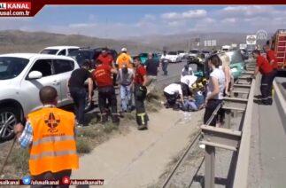 Yurt genelinde trafik kazaları