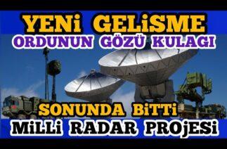 ASELSAN RADAR SİSTEMLERİ – Türk Savunma Sanayi Gelişmeleri