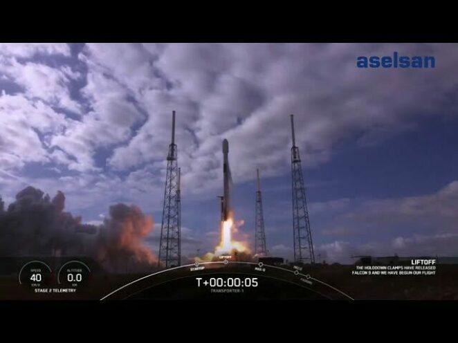 ASELSAT 3U Küp Uydusu, SpaceX'in roketi ile görev yapacağı yörüngesine başarıyla yerleştirildi