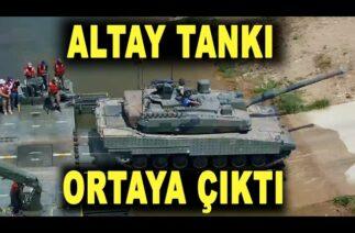Altay tankı ilk kez böyle görüldü – Altay tank has been carried by floating bridge – Samur – BMC