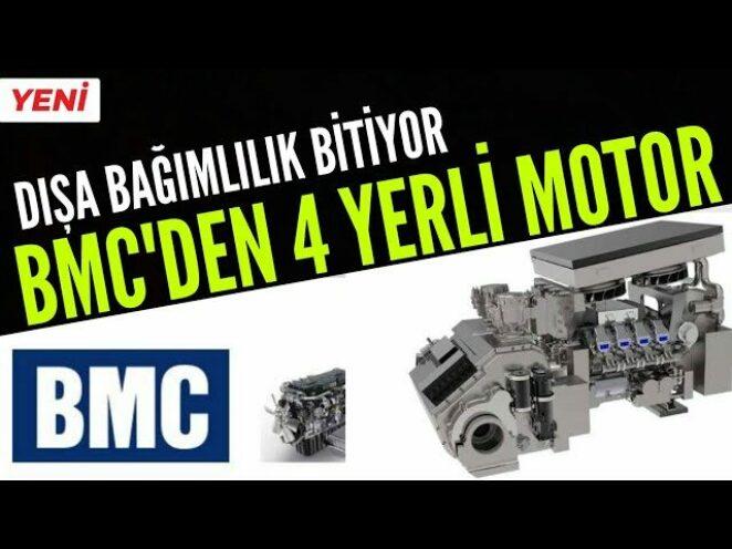 BMC POWER 'DAN 4 YERLİ MOTOR / SAVUNMA SANAYİ GELİŞMELERİ