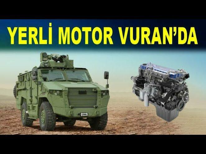BMC yerli motoru Vuran 4×4'te – BMC Power – Altay Tankı – Fırtına Obüsü – Savunma Sanayi