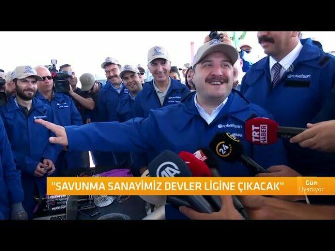 Bakan Varank: Savunma sanayimiz devler ligine çıkacak