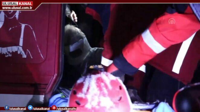Bolu'da zincirleme trafik kazası