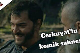 Cerkuyat ve Bamsı Bey'in komik sahnesi – Kuruluş Osman 41. Bölüm