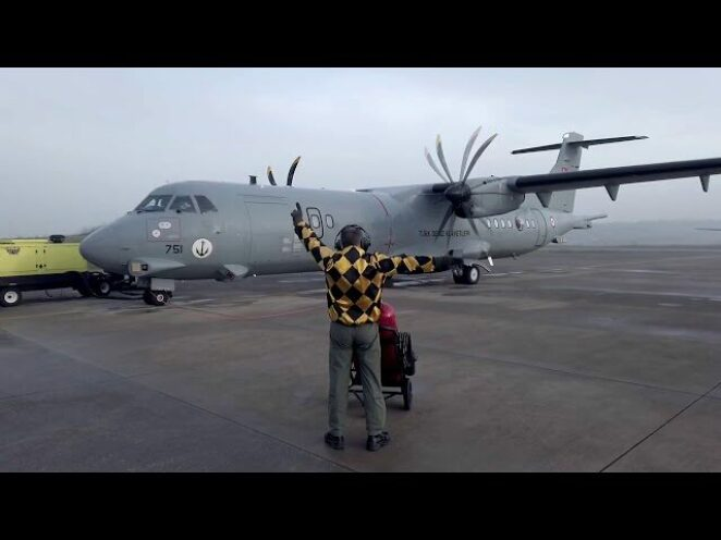 Deniz Karakol Uçağı P-72 göreve başladı