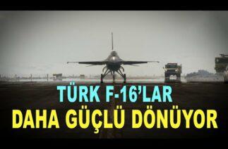 F16 Türk mühendisiyle güçleniyor – F16 aircraft life is extended – Savunma Sanayi – TUSAŞ