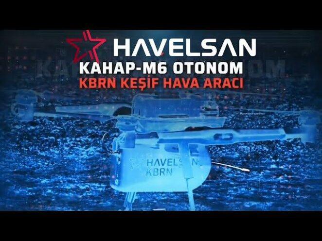 HAVELSAN KAHAB-M6 OTONOM KBRN İNSANSIZ HAVA ARACI