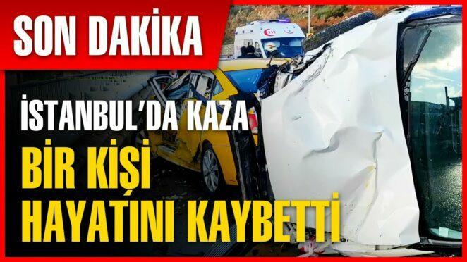 İstanbul Kartal'da Trafik Kazası | Son Dakika Haber