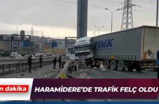 İstanbul'da Tır Kazası | Son Dakika Haber