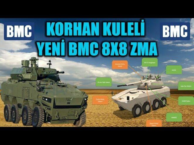 KORHAN KULELİ YENİ BMC 8X8 ZMA