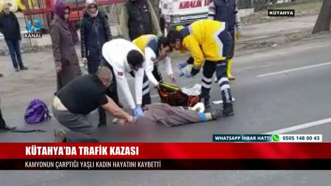 KÜTAHYA'DA TRAFİK KAZASI