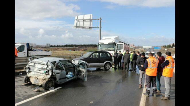 Keşan'da zincirleme trafik kazası: 1 ölü (Son Dakika Haberler)