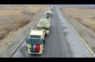 Kış Tatbikatı için Kars'a gelen Azerbaycan Silahlı Kuvvetleri unsurları