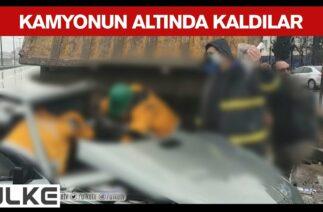 Kocaeli'nde Zincirleme Trafik Kazası Yaşandı