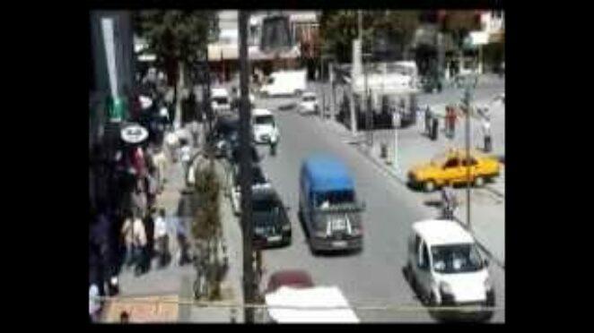 Malatya'da trafik kazaları, MOBESE kameralarına takıldı