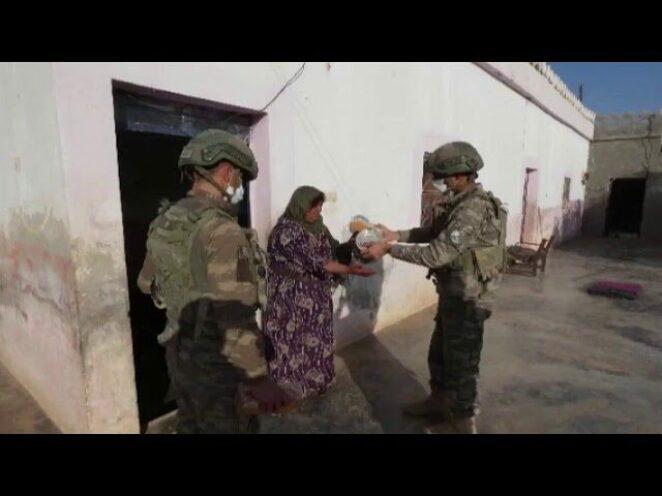 Mehmetçik'in yardım eli
