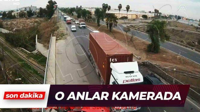 Mersin'de Trafik Kazaları Kameraya Yansıdı | Son Dakika Haber