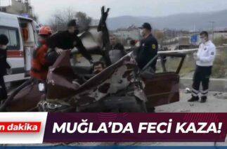 Muğla'da Otomobil Kazası | Son Dakika Haber
