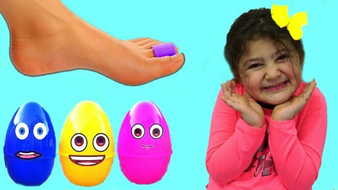 Öykü and cute clumsy sister – Funny Kids Video