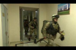 Özbek Ordusu eğitimlerine devam ediyor