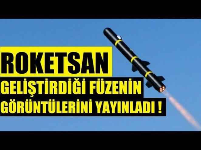 Roketsan, Geliştirdiği Yerli Güdümlü Füzenin Görüntülerini Yayınladı ! 8 KM MENZİLLİ TANK AVCISI !