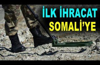 Savunma sanayi ile yeni ihracat – Mine detector from Turkey to Somalia – MEPAK – Mayın Dedektörü